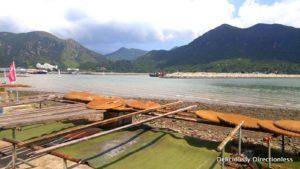 Bamboo mats for drying shrimp paste