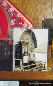 Diana Leung's photo as a child n Tai O
