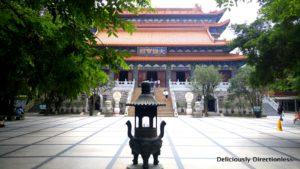 Po Lin Monastery in Lantau