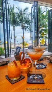 Anvaya Beach Resort Bali - Cocktails at the bar