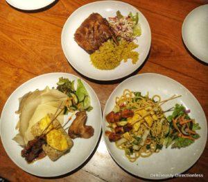 Dinner at Warung Damar Kuta Bali