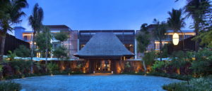 The Anvaya Beach Resort Bali - Lobby Facade