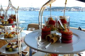 High tea on Bosphorus cruise 2