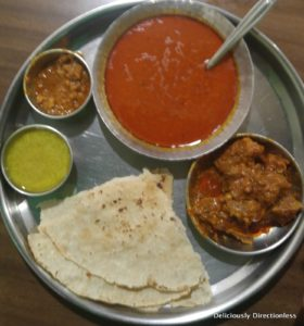 Mutton Thali at Surve's Pune