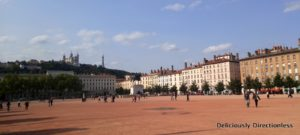 Place Bellecour Lyon France
