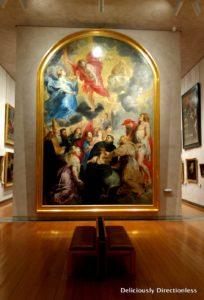 Rubens painting at Musée des Beaux-Arts Lyon France