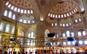 Sultanahmet Mosque Interiors 3
