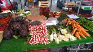 Vegetables at Marché Quai Saint-Antoine Lyon France