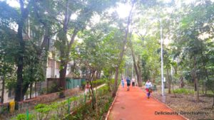 Walking track near Treebo Deccan 8 Pune