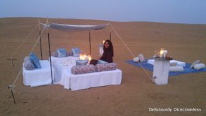 Champagne evening near Kuldhara