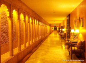 Corridor at Suryagarh Jaisalmer