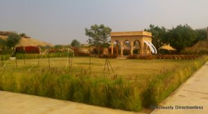 Gardens at Suryagarh Jaisalmer 1