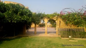 Gardens at Suryagarh Jaisalmer 2