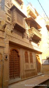 Havelis inside Jaisalmer fort