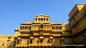 Jaisalmer Fort detail