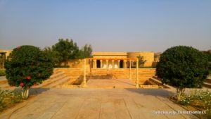 Stepwell at Suryagarh Jaisalmer
