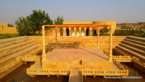 Stepwell detail at Suryagarh Jaisalmer