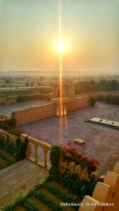 Sunrise at Suryagarh Jaisalmer