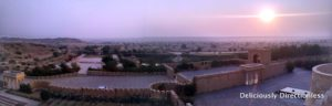 panorama of Suryagarh Jaisalmer