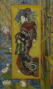 Amsterdam - Courtesan (after Eisen) by Vincent van Gogh © Van Gogh Museum