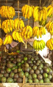 Fruits at market in Nairobi Kenya