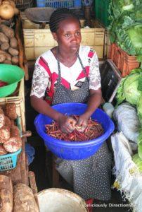 Market in Nairobi Kenya