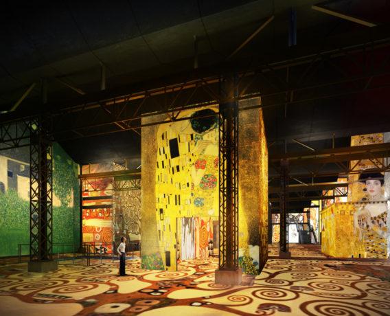 Klimt at Atelier des Lumieres 1 © Culturespaces