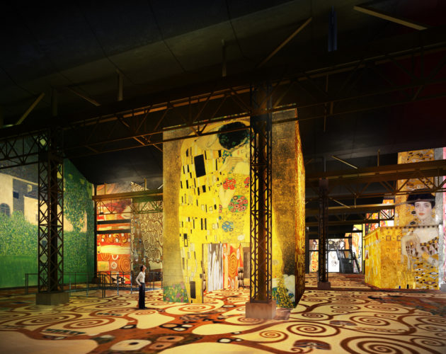 Klimt at Atelier des Lumieres 1 © Culturespaces
