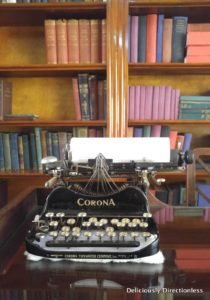 Typewriter at Karen Blixen Museum Nairobi Kenya