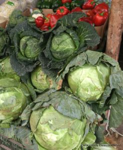 Vegetables at market in Nairobi Kenya