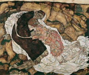 Vienna - Egon Schiele, Die Umarmung © Belvedere Vienna