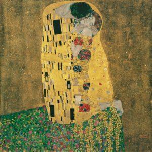 Vienna - Gustav Klimt, Kiss © Belvedere Vienna