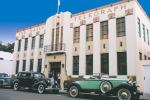 Daily Telegraph Building in Napier New Zealand