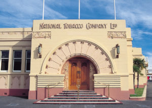 National Tobacco Building Napier New Zealand