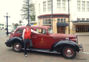 Vintage Car Tour with Art Deco Trust Napier