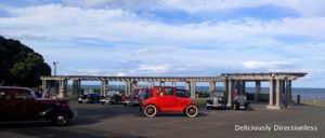 Vintage cars in Napier
