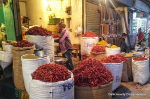 Chillies at Bikaner market