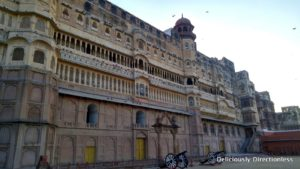 Facade of Junagarh Fort Bikaner