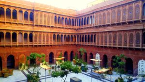 The Haveli and its central courtyard, Diwali Chowk