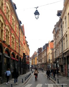 Cobbled streets of Lille
