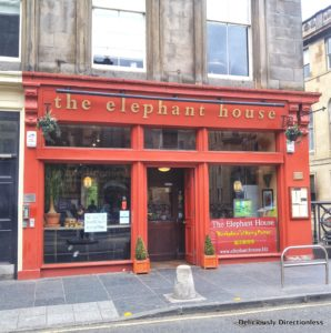 Elephant House Cafe Edinburgh
