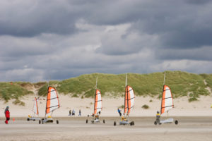 Sand yachting at Le Touquet - Image courtesy Picardy Tourism © L Pupin