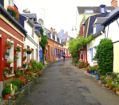 Streets of Saint Valery