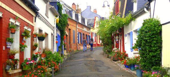 Streets of Saint Valery