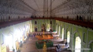 Central hall in Bada Imambara Lucknow
