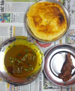 Nihari & kulcha at Raheem's Lucknow