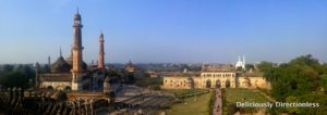 View from Bada Imambara Lucknow