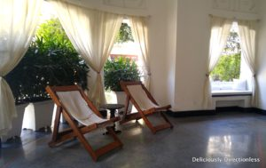 Room patio in Lebua Lucknow