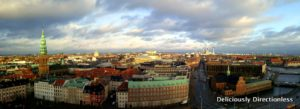View from tower of Christiansborg Palace
