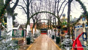 Winter Wonderland at Tivoli Garden Copenhagen
